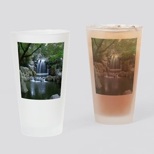 Tranquil Waterfall Drinking Glass