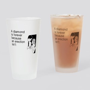 Diamond Is Forever Drinking Glass