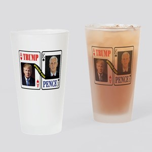 TRUMP - PENCE Drinking Glass