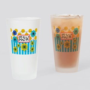 LSW MSW 3 Drinking Glass