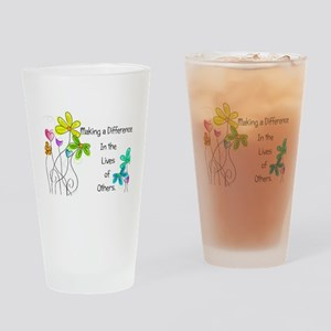 Caregiver Quote Drinking Glass
