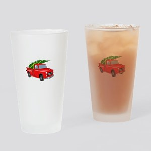 Bringing Tree Home Drinking Glass