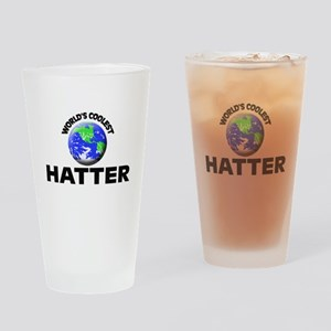 World's Coolest Hatter Drinking Glass