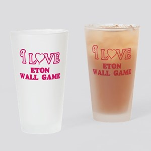 I Love Eton Wall Game Drinking Glass