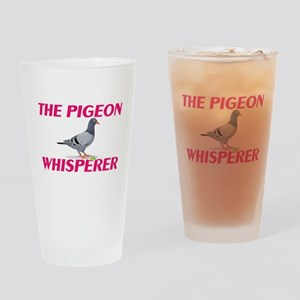 The Pigeon Whisperer Drinking Glass