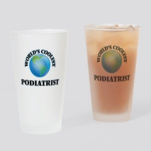 Podiatrist Drinking Glass