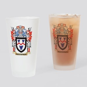 Mccormick Coat of Arms - Family Cre Drinking Glass