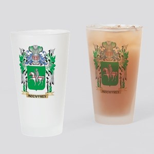 Mccaffrey Coat of Arms - Family Cre Drinking Glass