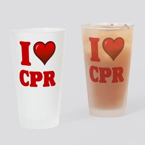 I love Cpr Drinking Glass