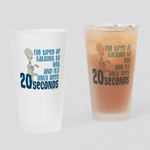 American Dad 20 Seconds Drinking Glass