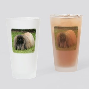 Pekingese 9Y218D-016 Drinking Glass