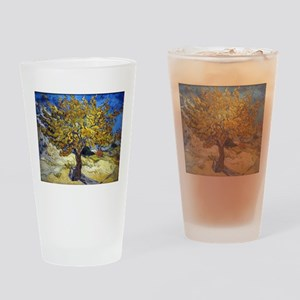 Van Gogh Mulberry Tree Drinking Glass