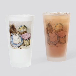 Beatrix Potter Lady Mouse Drinking Glass