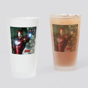Avengers Invincible Iron Man Drinking Glass