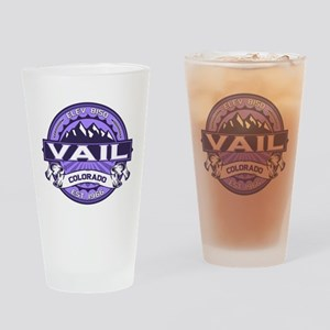 Vail Purple Drinking Glass