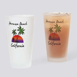 Hermosa Beach California Drinking Glass