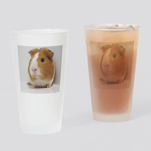 Cute guinea pig Drinking Glass