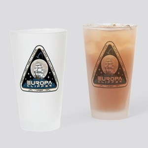 Europa Clipper Logo Drinking Glass