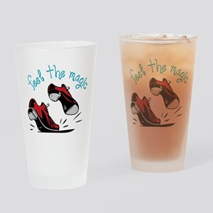 Feel The Magic Drinking Glass