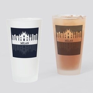 Milan skyline Drinking Glass
