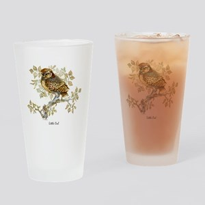 Little Owl Peter Bere Design Drinking Glass