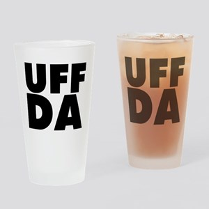 Uff Da Drinking Glass