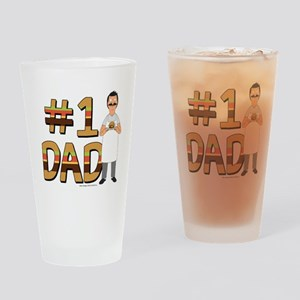 Bob's Burgers #1 Dad Drinking Glass