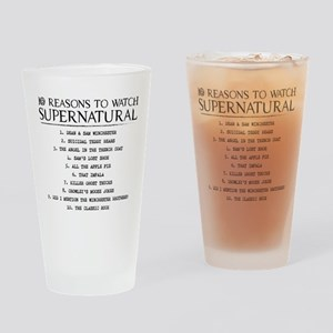 Supernatural Reasons Drinking Glass