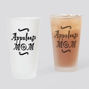 Appaloosa MOM Drinking Glass