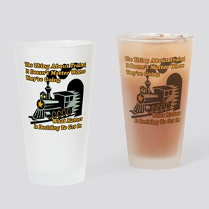 Polar Express Train Drinking Glass