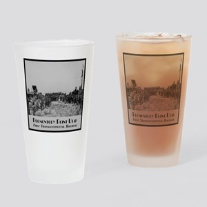 Promontory Point Utah Drinking Glass