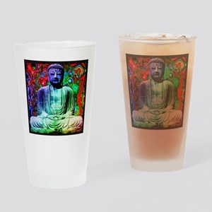 Life Tripping With Buddha Drinking Glass