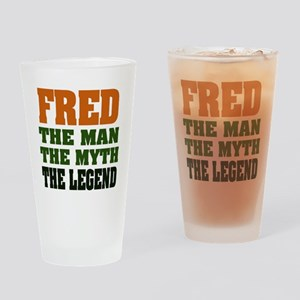 FRED - The Legend Pint Glass
