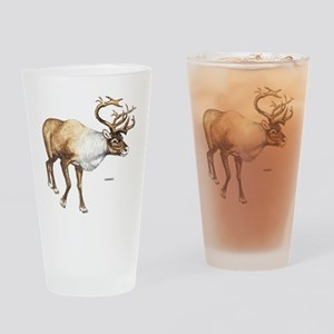 Caribou Animal Drinking Glass