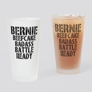 Bernie Beefcake Drinking Glass