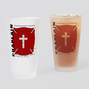 Firefighter Chaplain Drinking Glass
