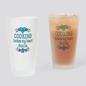 Cooking Smiles Drinking Glass