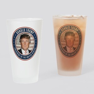 Vote Donald Trump President Drinking Glass