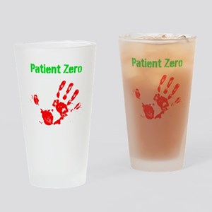 Patient Zero Drinking Glass