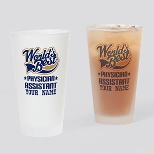 Physician Assistant Personalized Drinking Glass