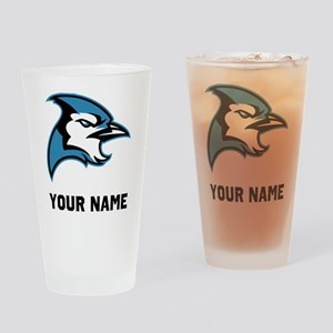 Bluejay Head Drinking Glass