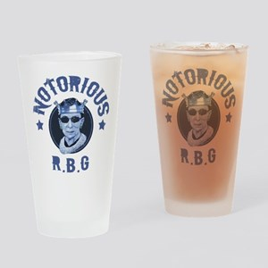 Notorious RBG III Drinking Glass