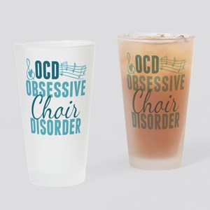 Funny Choir Drinking Glass