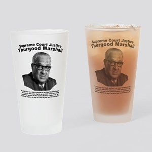 Thurgood Marshall: Equality Drinking Glass