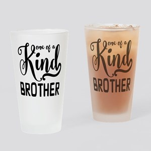 One of a kind Brother Drinking Glass
