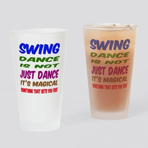 Swing dance is not just dance Drinking Glass