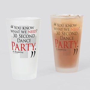 30 Second Dance Party Drinking Glass
