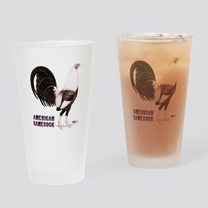 Gamecock Sepia Drinking Glass
