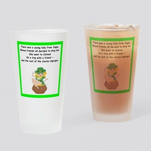 limerick Drinking Glass
