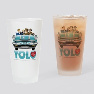 I Love Lucy: YOLO Drinking Glass